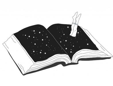 Susanna Gentili, Stampa 30x40cm firmata: Book Inside