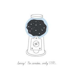 Susanna Gentili, Stampa 30x40cm firmata: Sorry! No Candies,only Stars