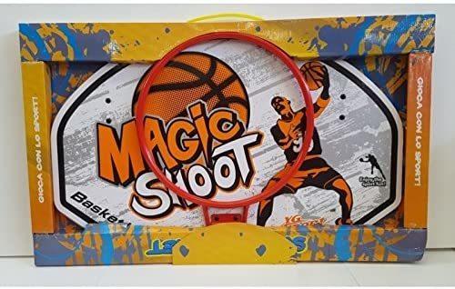 Tabellone Basket da muro con Canestro - Giocattoli Linea Paggio - 19203 - 3+ anni