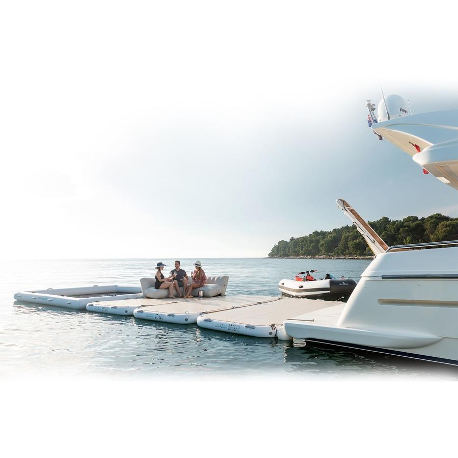 Piattaforma Gonfiabile Yachtbeach 4.10 x 2.05 m col. Bianco Perla - Offerta di Mondo Nautica 24