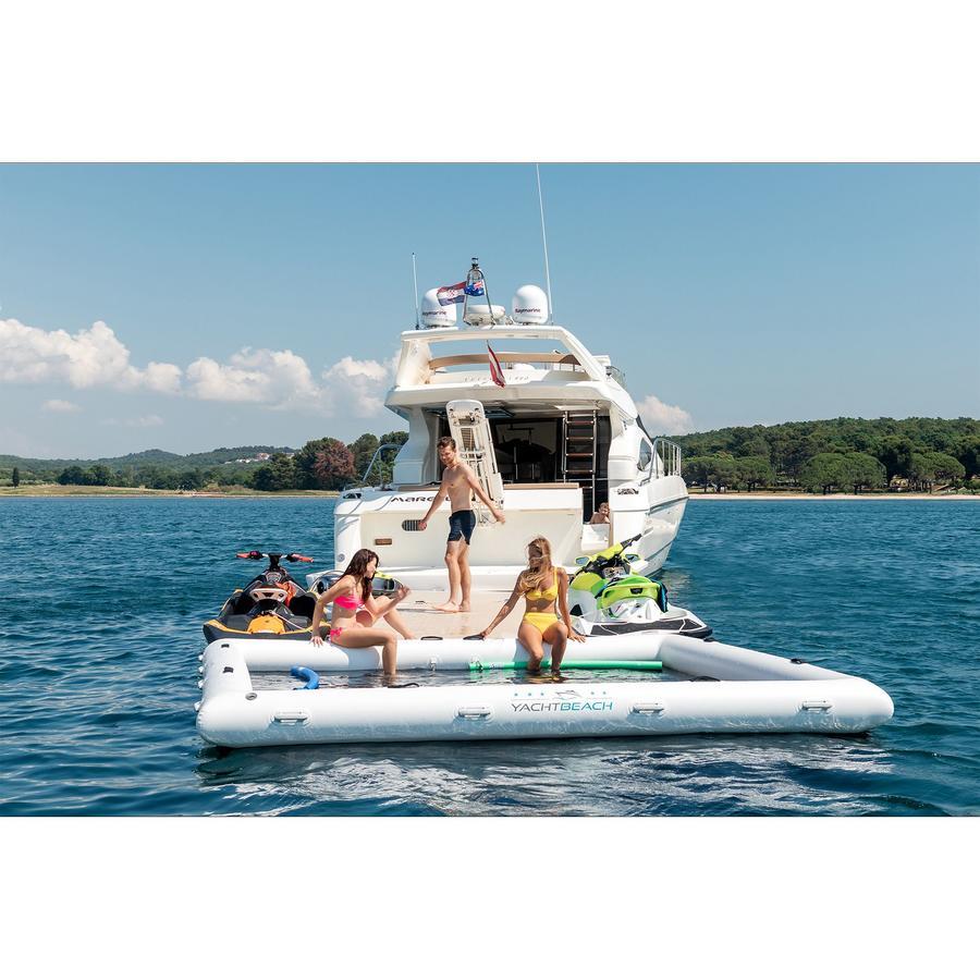Piscina Gonfiabile 4x4m Yachtbeach - Offerta di Mondo Nautica 24