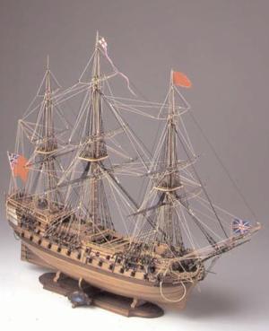 Scatola di Montaggio in Legno Vascello H.M.S. Bellone -Offerta di Mondo Nautica 24