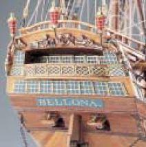 Scatola di Montaggio in Legno Vascello H.M.S. BELLONA di Corel -Offerta di Mondo Nautica 24