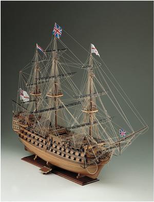 Scatola di Montaggio in Legno Nave H.M.S. Victory - Offerta di Mondo Nautica 24