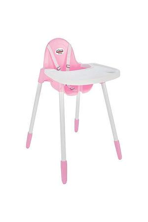 Sedia alta Bimbo Pilsan rosa - Pilsan - 07-498R - 6-36 mesi
