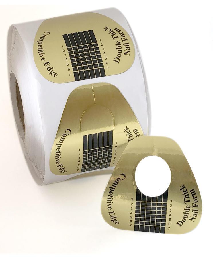 500 Cartine doppia adesione - Allungamento unghie