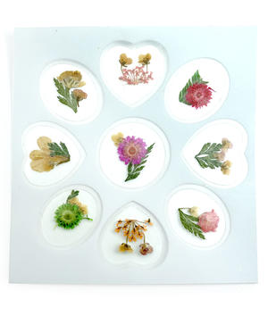 9 Fiori secchi - Nail Art