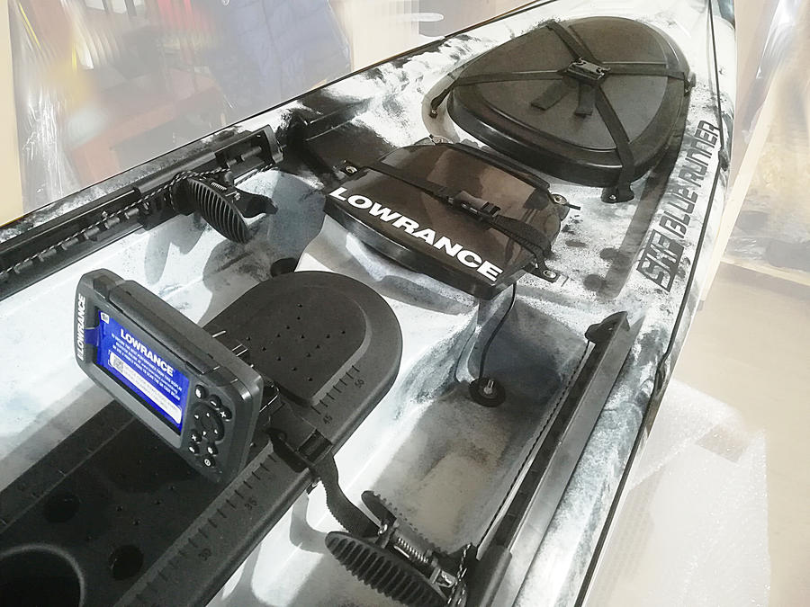 SKF Bluerunner - Kayak da pesca - 425 cm - completo accessori