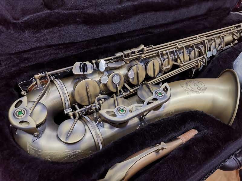 SaxTenore Grassi ACTS700BR Finitura Vintage Jazz