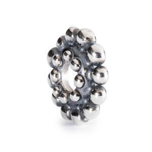 Beads Argento Petali di Loto