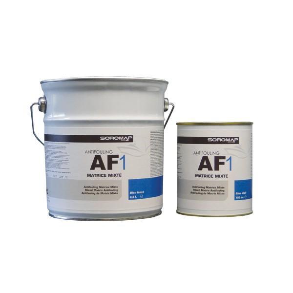 Antivegetativa AF1 di Soromap LT. 2,5 a Matrice Mista Colori a Scelta - Offerta di Mondo Nautica 24