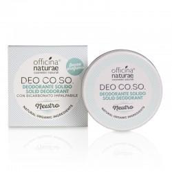 Officina naturae - Deo Co.So. Deodorante solido Neutro