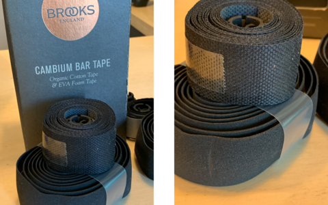 Brooks Cambium Cotton Bartape Black