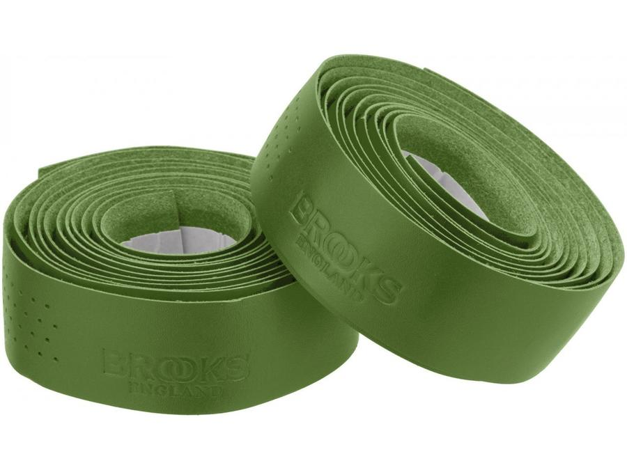 Brooks Leather Bar Tape Apple Green