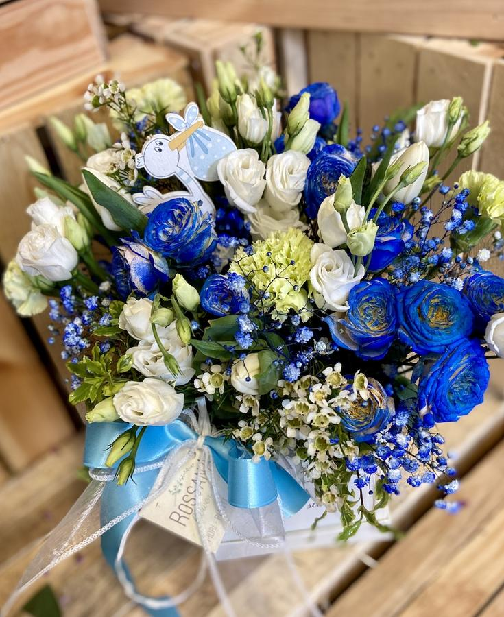 Flower Box Azzurro