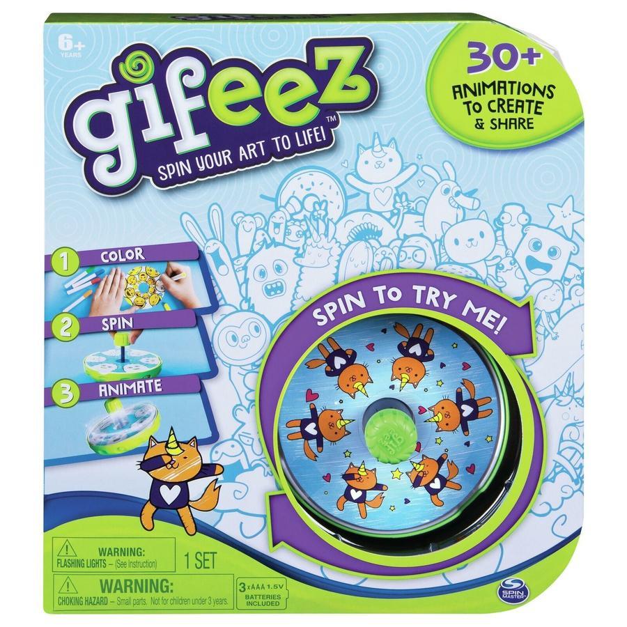 Gifeez Studio Crea oltre 30 Animazioni Personalizzate - Spin Master - 6045295 - 6+ anni