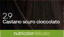 BioKap Nutricolor Tinta Delicato Nuance 2.9 Castano scuro Cioccolato