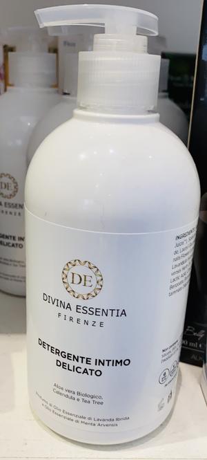 Detergente intimo bio rinfrescante e lenitivo ph fisiologico Divina Essentia Firenze  500 ml
