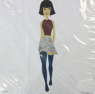 Nicoletta Baldari, Stampa formato 21x21cm firmata e numerata a 500 copie: #Character28