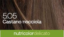 BioKap Nutricolor Tinta Delicato Nuance 5.05 Castano Nocciola