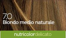 BioKap Nutricolor Tinta Delicato Nuance 7.0 Biondo Medio Naturale