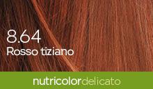 BioKap Nutricolor Tinta Delicato Nuance 8.64 Rosso Tiziano