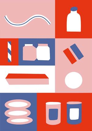 SUPERCANDYSTUDIO STAMPA formato A3: SHAPES