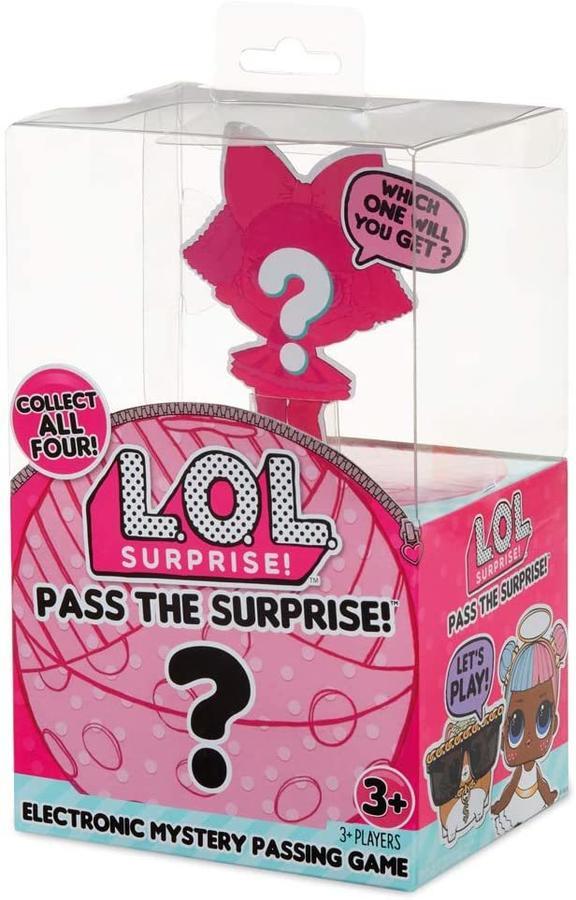 LOL Surprise Pass the Surprise Gioco da Tavolo - Giochi Preziosi - LLU48001 - 3+ anni