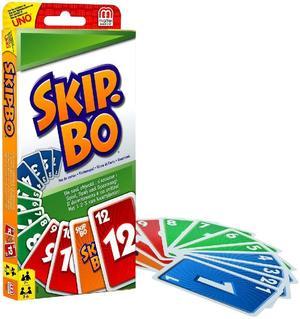 Skip-Bo Gioco di Carte - Mattel - 52370 - 7+ anni