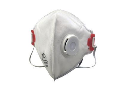 Confezione Mascherine antipolvere FFP3 con valvola FFP3 NR D a norma CE spedizione immediata pz 10