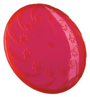 Trixie Dog Disc 18 cm Frisbee Gioco Per Cani in Gomma Disco Galleggia Addestramento