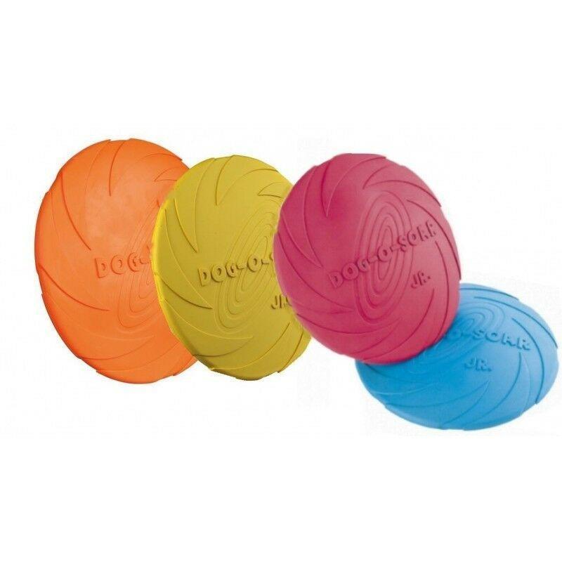 Trixie Dog Disc 15 cm Frisbee Per Cani Piccola Taglia Gioco In Gomma Galleggia