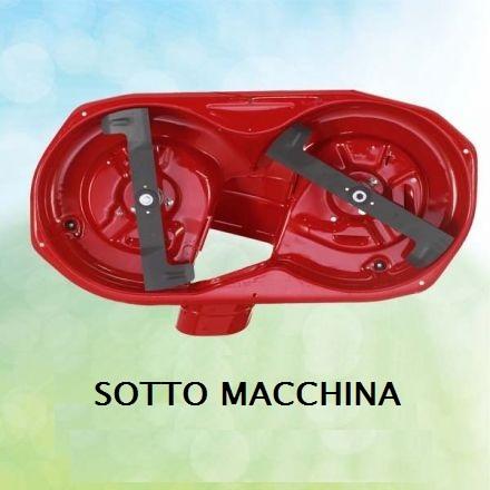 Trattorino con cesto Castelgarden GT 94 - Papillon HP 14,5 cod 94526 CON KIT mulching