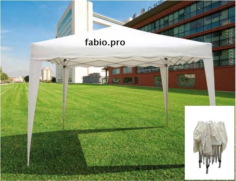 Gazebo Richiudibile in Alluminio mod. BALAIA con Telo Beige 3X3Mt  55169