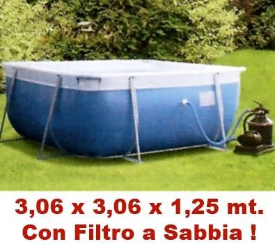 9985K New Plast vasca DEMO 265 x 265 cm