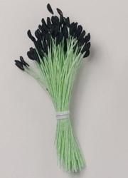 Set 144 pistilli per fiori verde lilium cm 8