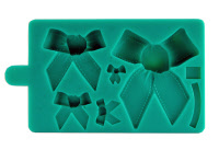 Stampo silicone 5 differenti fiocchi (mould)