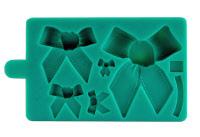 Stampo silicone 5 differenti fiocchi (mould)