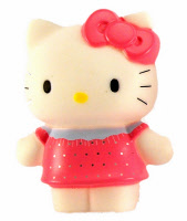 statuina hallo kitty  plastica 6  cm