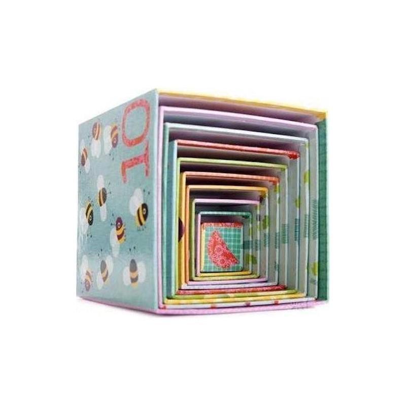 10 Cubi impilabili Foresta