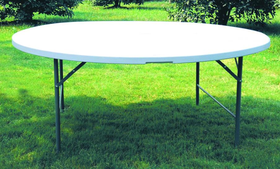 Tavolo Rotondo Diametro 150 Pieghevole Per Catering E