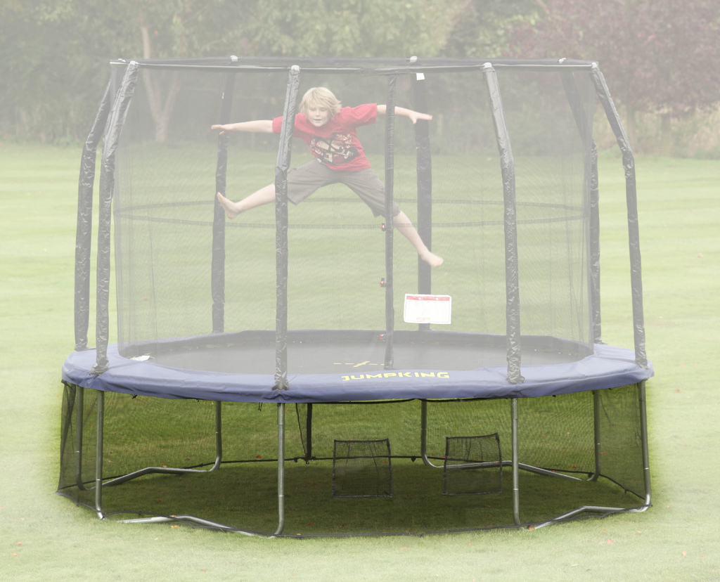 Skirt  - Rete anti-intrusione per trampolino ovale