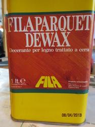 Fila parquet  DEWAX 1 lt decerante per legno trattato a cera