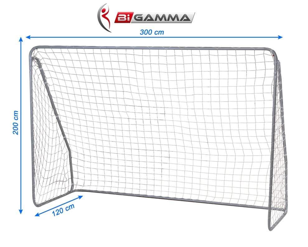 Porta calcio regolamentare mod super goal misure - Dimensioni porta calcio ...