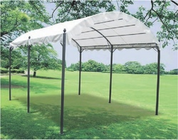 GAZEBO da giardino in METALLO Mod. AVEIRO PAPILLON 3X4 mt Struttura in acciaio art 94971