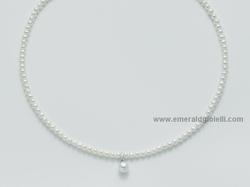 PCL3076 Girocollo perle e diamante Miluna