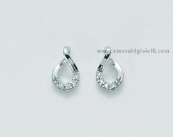 ERD1548 Orecchini con Diamanti Miluna