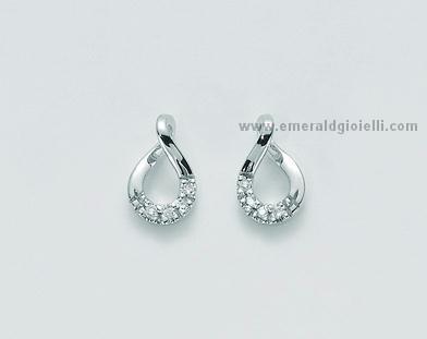 miglior sito web bb69b e8117 ERD1548 Orecchini con Diamanti Miluna