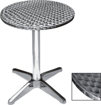 Tavolo rotondo diam 70 alluminio bar happy hour 410555
