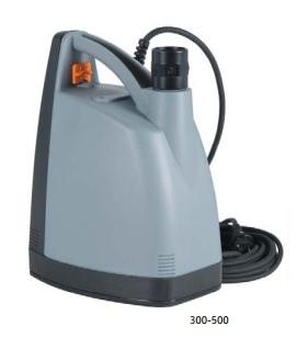 Elettropompa pompa ad immersione professionale Venezia 300 - 2 mm